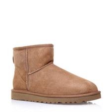 Short Flat Boots Mini