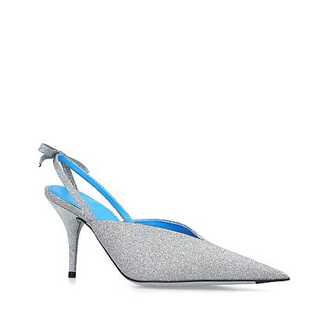 Knife Glitter Slingback Courts 40, ${color}