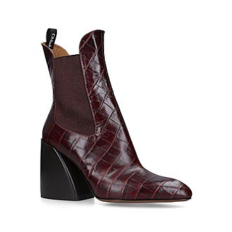 Wave Ankle Boots