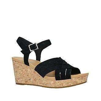 Uma Wedge Sandals