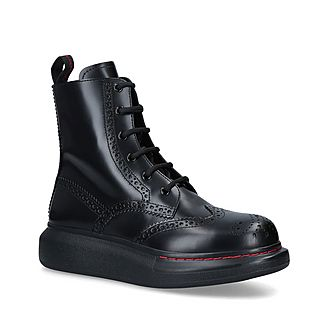 Combat Brogue Boot