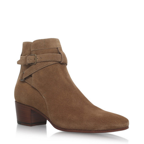 Bake Jodhpur Ankle Boots, ${color}