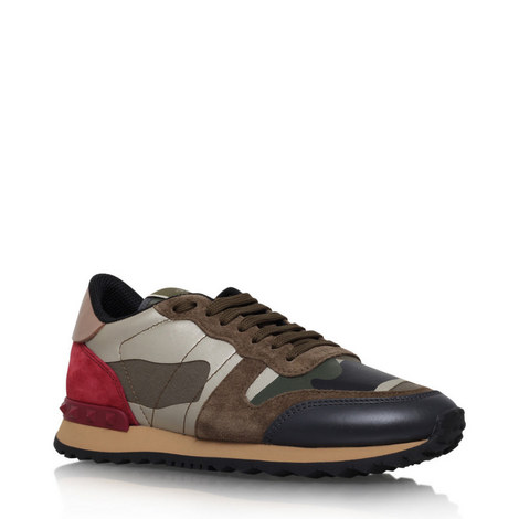 Studded Camouflage Trainers, ${color}