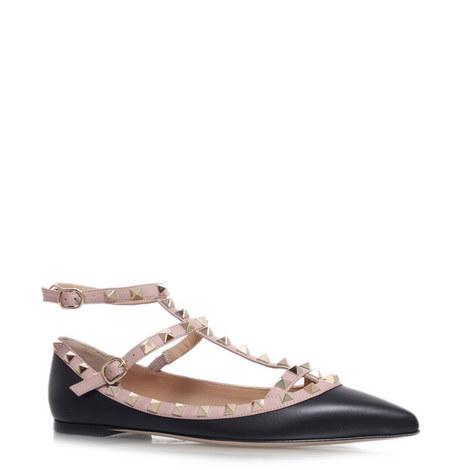 Rockstud Ballerina Flats, ${color}