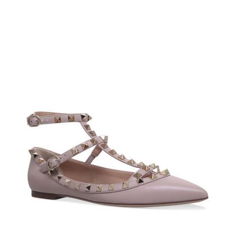 Rockstud Ballet Flats, ${color}