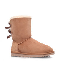 Bailey Bow Sheepskin Boots
