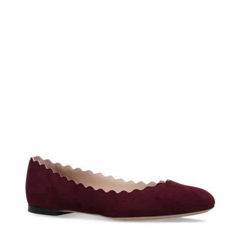 Lauren Suede Ballet Flats, ${color}