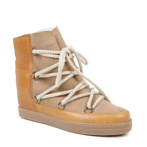 Nowles Rope Wedge Boots, ${color}