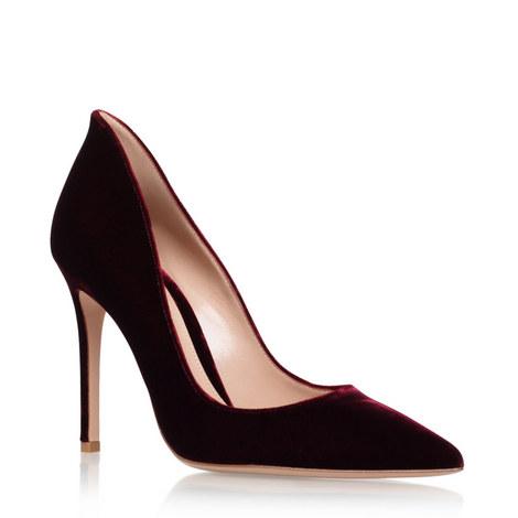 Velvet Collar Heels, ${color}