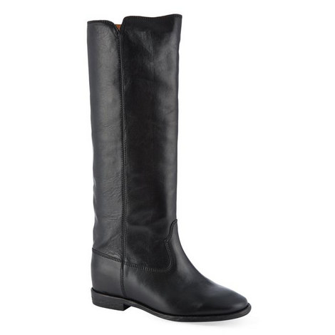 Chess Knee High Riding Boots, ${color}