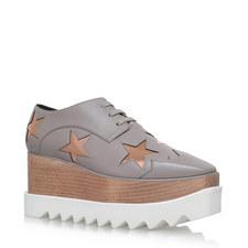 Elyse Star Wedge Shoes