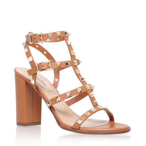8f1c88baf487d Rockstud 90 Heeled Sandals