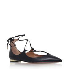 Christy Ghillie Ballet Flats