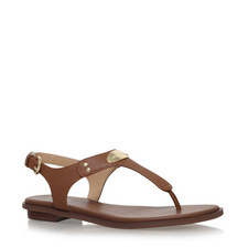 MK Plate Toe Post Sandals