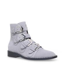 Elegant Buckle Strap Boots