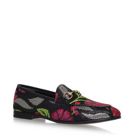 Jordaan Jacquard Snaffle Loafers, ${color}