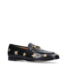 Jordaan Snaffle Embroidered Loafers