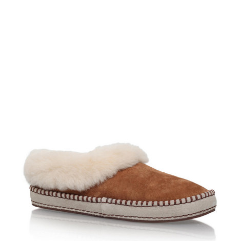 Wrin Whipstitch Slippers, ${color}
