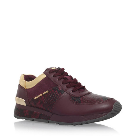 Allie Embossed Trainers, ${color}