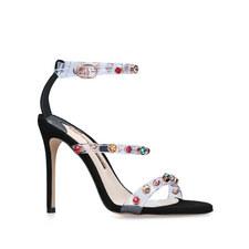 Rosalind Crystal Facet Sandals