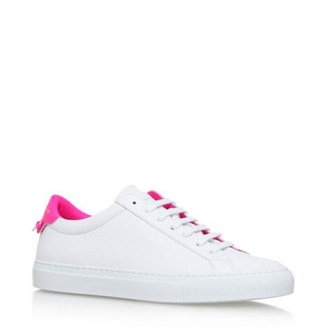 Fluro Low Top Sneakers, ${color}