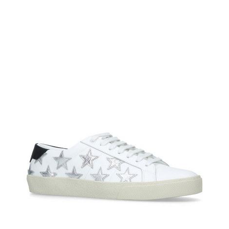 Classic Star Leather Trainers, ${color}