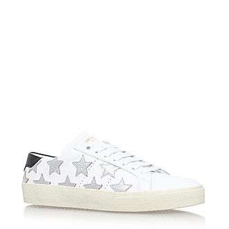 Classic Star Leather Trainers