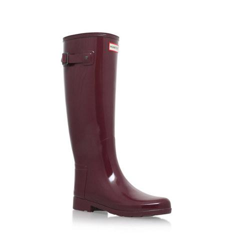Original Gloss Wellington Boots Tall, ${color}