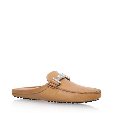 Gommini Sabot Driving Shoes, ${color}