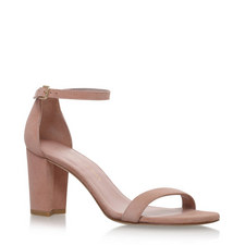 Nearly Nude Heeled Sandals