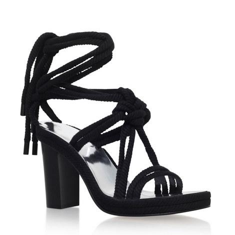 Miana High Heel Rope Sandals, ${color}