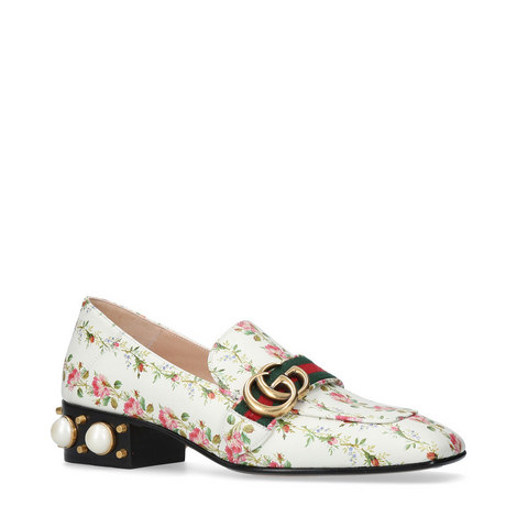 Peyton Pearl Heeled Loafers, ${color}