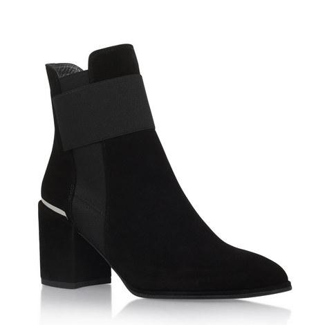 Scholastic Suede Ankle Boots, ${color}