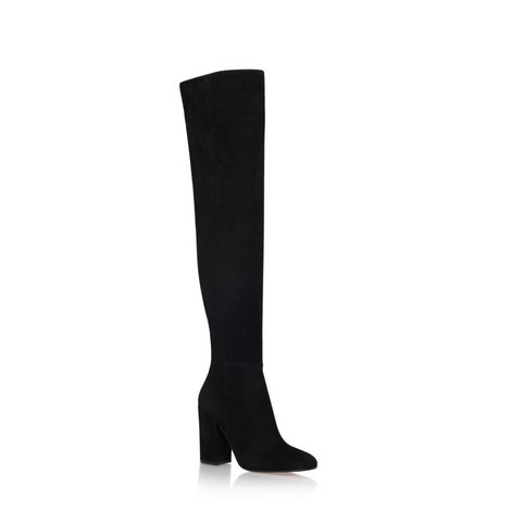 Rolling Over Knee Boots, ${color}