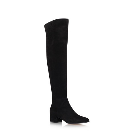 Rolling Mid-Heel Over Knee Boots, ${color}