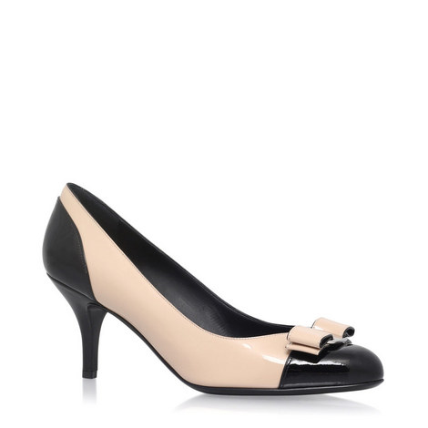 Carla Leather Court Shoe, ${color}