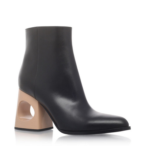 Hedera Circle Ankle Boots, ${color}