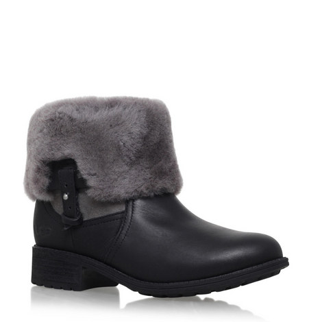 Chyler Shearling Ankle Boots, ${color}