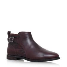 Demi Croc Ankle Boots