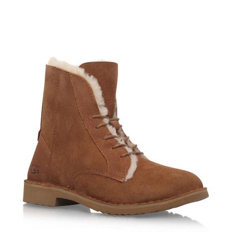 Quincy Lace-Up Boots, ${color}
