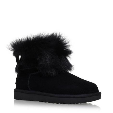 Valentina Crystal Sheepskin Boots, ${color}