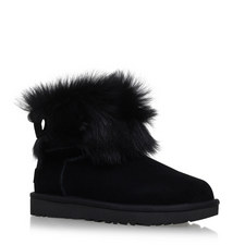 Valentina Crystal Sheepskin Boots