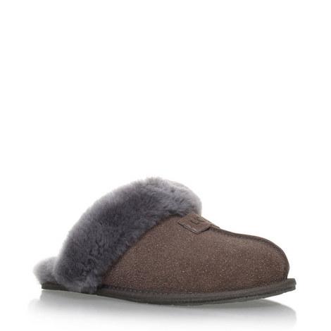 Scuffette II Suede Slippers, ${color}