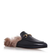 Princetown Lamb Fur Slides