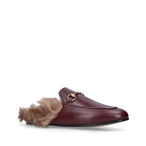 Princetown Faux Fur Lined Slides, ${color}
