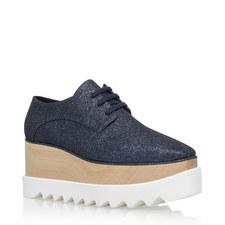 Elyse Glitter Wedge Shoes