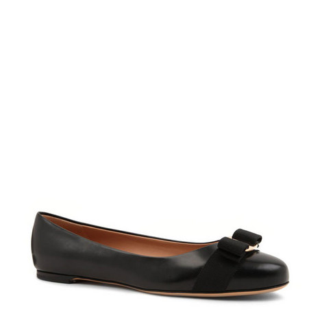 Varina Leather Ballet Flats, ${color}