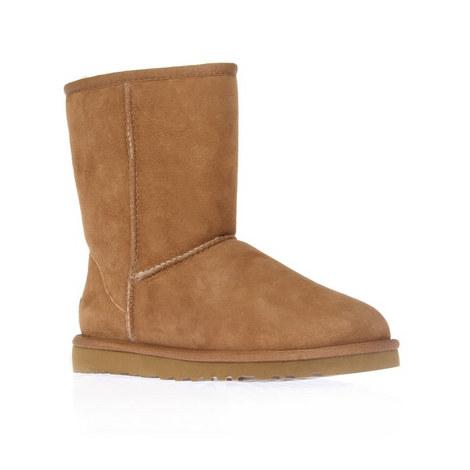 Short Flat Boots, ${color}