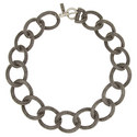 Interlinking Chain Necklace, ${color}