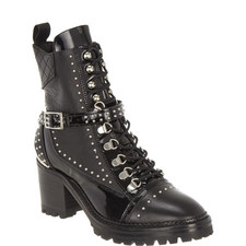 Studded Heel Boots